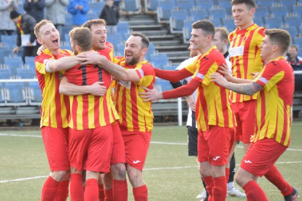 Rossvale stun holders Beith in West of Scotland Cup