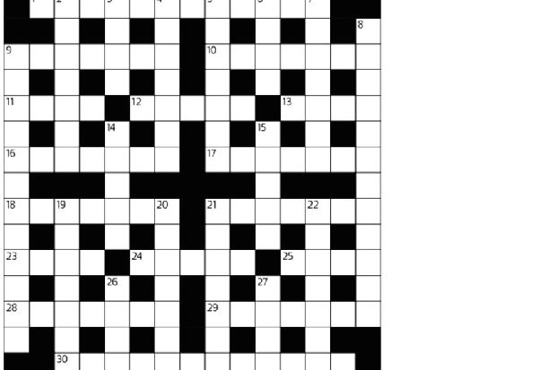 Cryptic crossword - The Scotsman 28/08/15 - The Scotsman