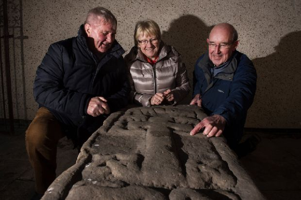 Ancient stone slabs could be linked to lost Kingdom of Strathclyde