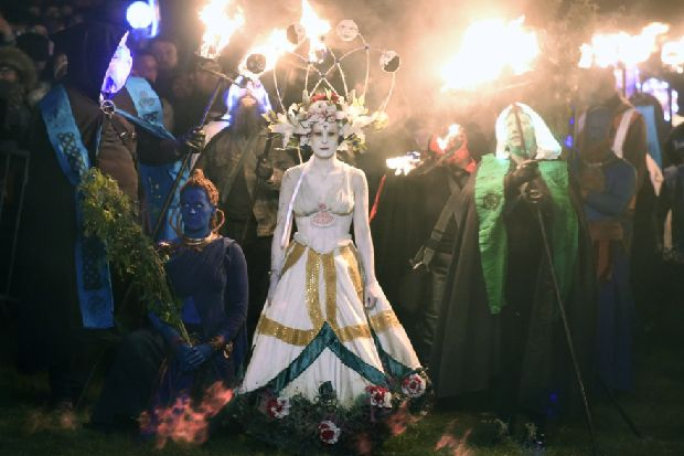 Scottish pagans bid to win legal right to worship outside village