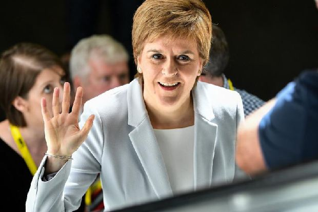 EU elections: Nicola Sturgeon says vote for SNP would 'show Scotland won't be ignored'