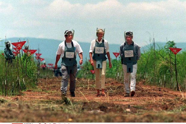 Prince Harry follows mother Diana's footsteps with landmine scheme