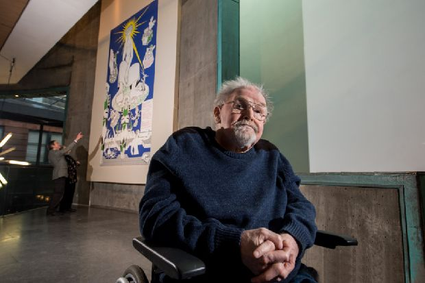 Alasdair Gray: 'Scottish independence turning out as Tory as Westminster'