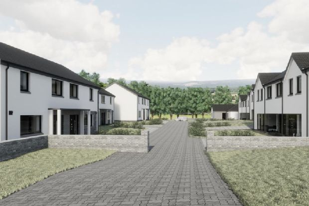 Affordable green homes in the Scottish Borders could soon be a reality