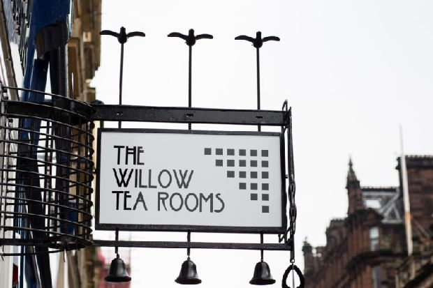 Glasgow's Charles Rennie Mackintosh-inspired Willow Tea Rooms put up for sale