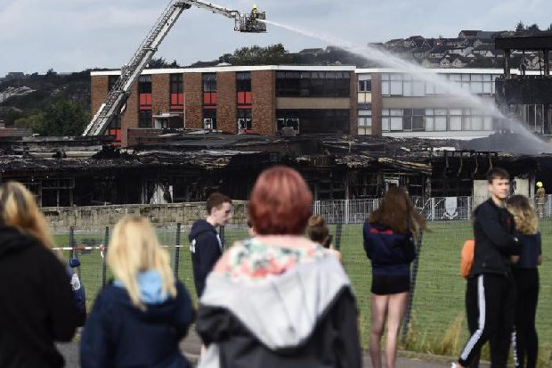 Woodmill High School fire: Demolition to begin on fire-hit building
