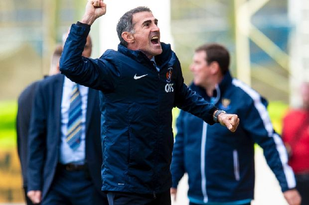 Pundit claims Kilmarnock should 'cut their losses' with Italian manager