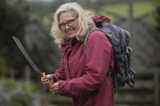 Daring Scottish gran, 75, is oldest person ever to take part in Bear Grylls TV show