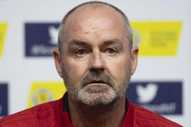 Scotland boss Steve Clarke looks for a perfect day