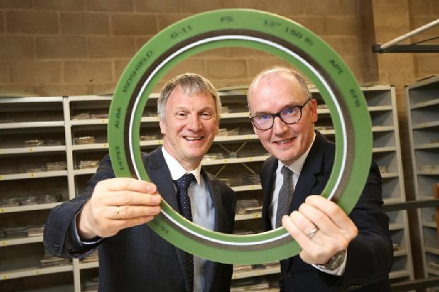 Aberdeen manufacturer Alba Gaskets completes management buy-out to seal growth