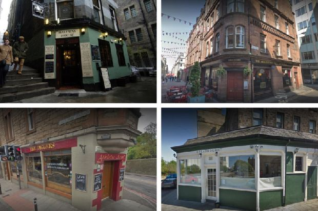 These are 25 of the best pubs in Edinburgh according to the Good Pub Guide