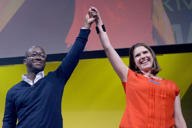 Lib Dems try to seize former heartlands as Swinson vows to take scalps on two fronts