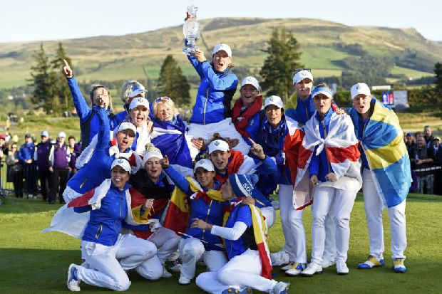 Catriona Matthew says Europe's Solheim Cup victory at Gleneagles was a 'dream come true'