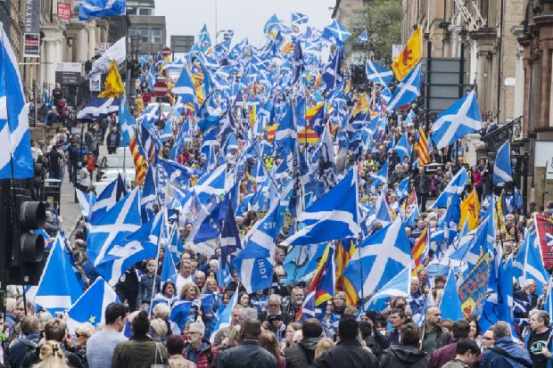 """Indy campaigner halts """"embarrassing plans"""" to hold Edinburgh march at same time as official AUOB event"""