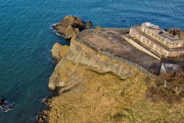 Top secret clifftop wartime research centre near North Berwick goes on sale with hugely-reduced price tag