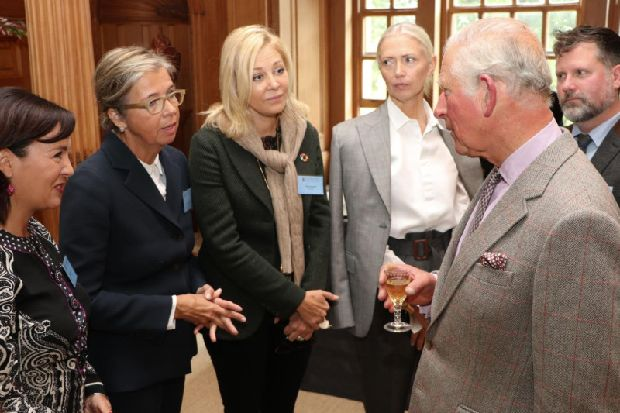 Prince's Foundation sparkles at Dumfries House sustainable fashion conference