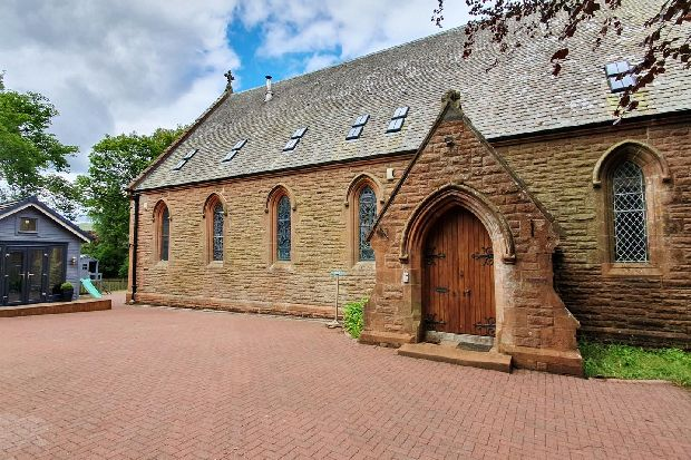 This contemporary Scottish church conversion is on sale for less than an Edinburgh flat - take a look inside
