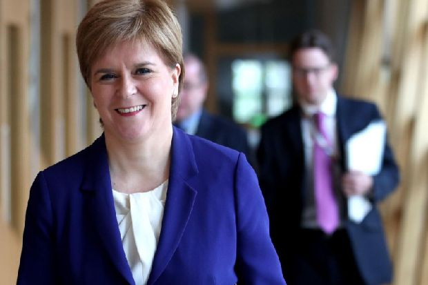 Nicola Sturgeon says 'more needs to be done' on ending HIV stigma