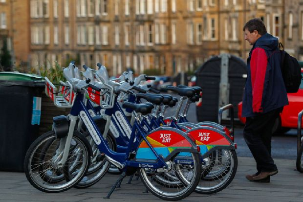 Dockless cycle hire stations in Edinburgh closed after 'wanton destruction' of bikes