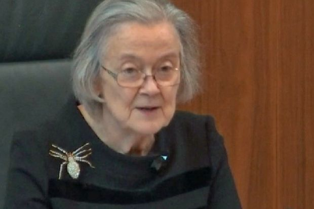 Brexit: Why Lady Hale's spider brooch is such a perfect icon for our times – Laura Waddell