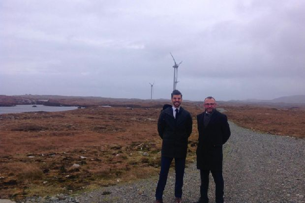Economic lift as South Uist wind farm agrees £8.5m refinancing deal