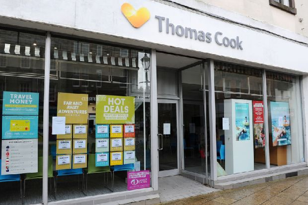 Former Falkirk Thomas Cook staff will be on hand to advise customers