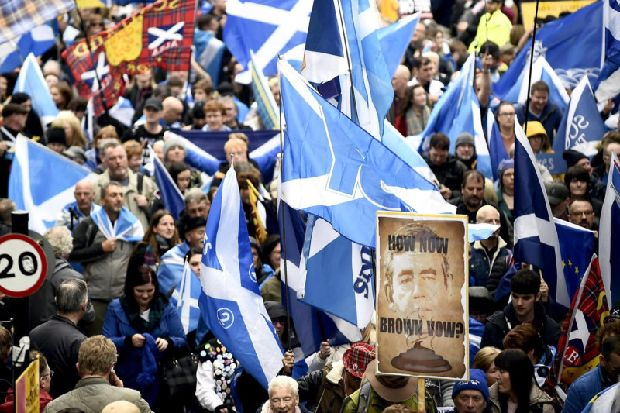 Tribalism in Scottish politics has led to 'disappointing' development of Holyrood