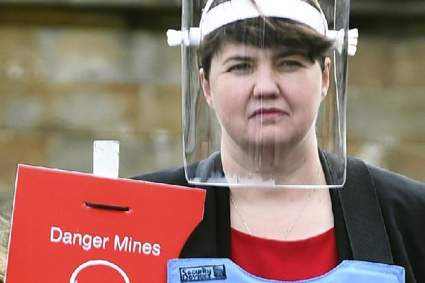 Brexit: Ruth Davidson urges MPs to reach a deal as she eyes up a career change