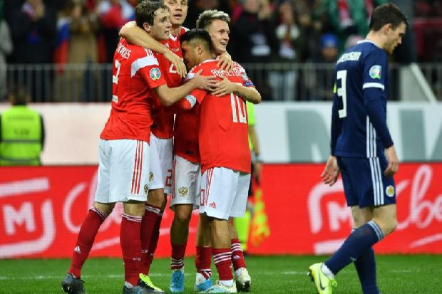 Russia 4 - 0 Scotland: Further capitulation by Steve Clarke's men