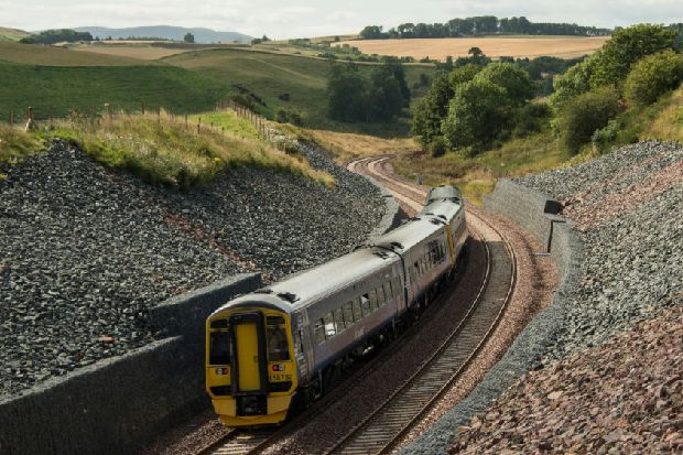 """Borders Railway line extension case is """"rock solid"""" according to Midlothian MSP"""