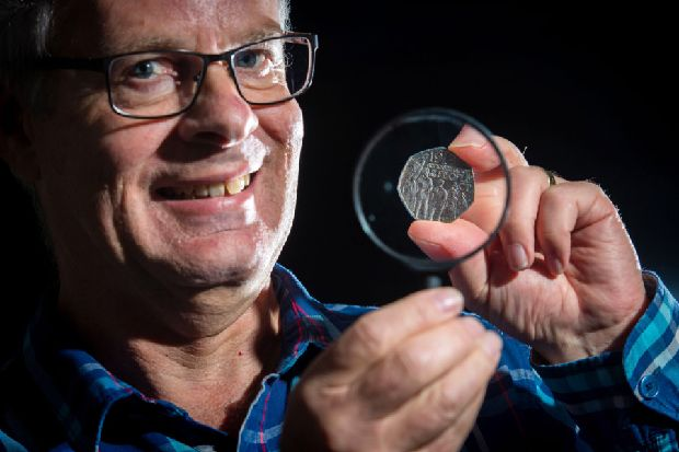 50 years on folk still fascinated by the 50p piece