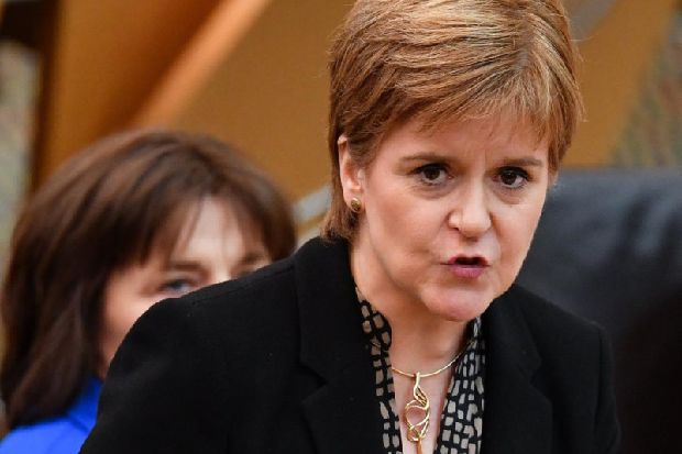 Nicola Sturgeon will formally seek a section 30 order in a 'matter of weeks'