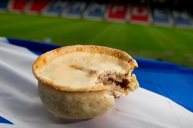 'No ban on pies at Scottish football matches' despite health chief's recommendation