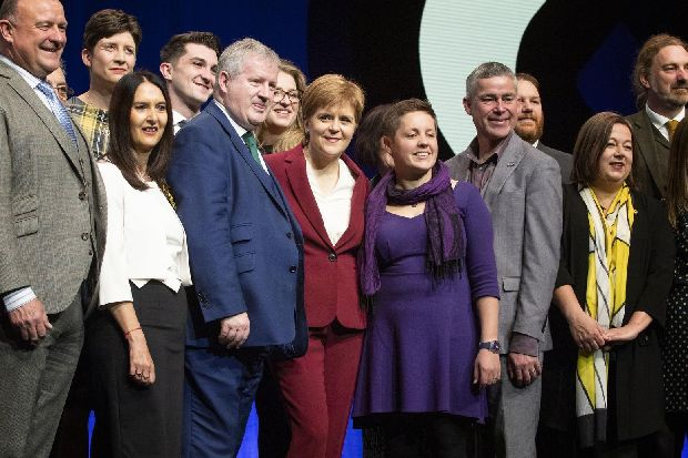 Nicola Sturgeon refuses to rule out 'hard border' with England in event of Scottish independence