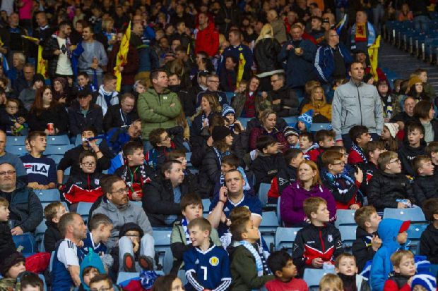 Andrew Smith: Keen young fans help lift sombre mood surrounding Scotland national team
