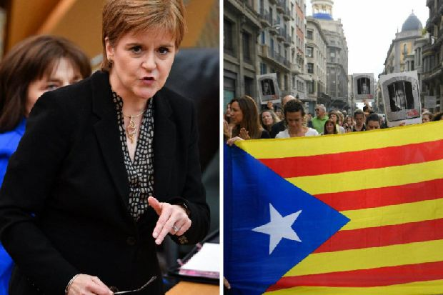 Catalonia: Nicola Sturgeon laments 'dreadful outcome' as Spanish court gives 12 separatists jail terms