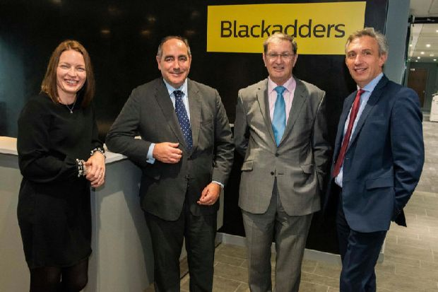 Law firm Blackadders bullish after move to new capital site