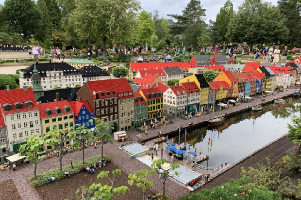 Legoland, Denmark, a holiday destination where everything is awesome