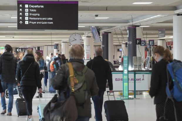 This is why Ryanair passengers are being asked to arrive at Edinburgh Airport even earlier for the next five months