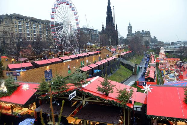 Edinburgh's Christmas: 'Silent discos' and 20 more stalls to be brought into Princes Street Gardens