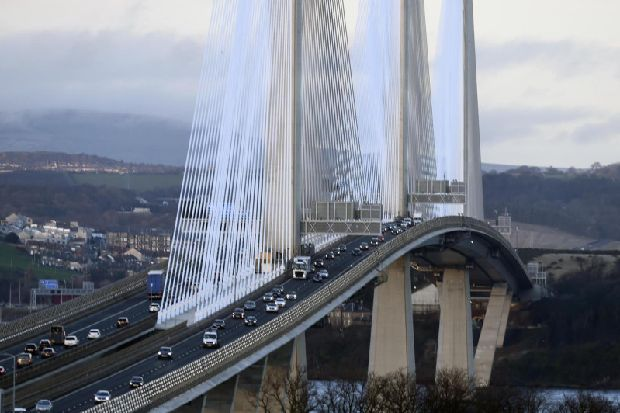 Queensferry Crossing work won't be finished until December