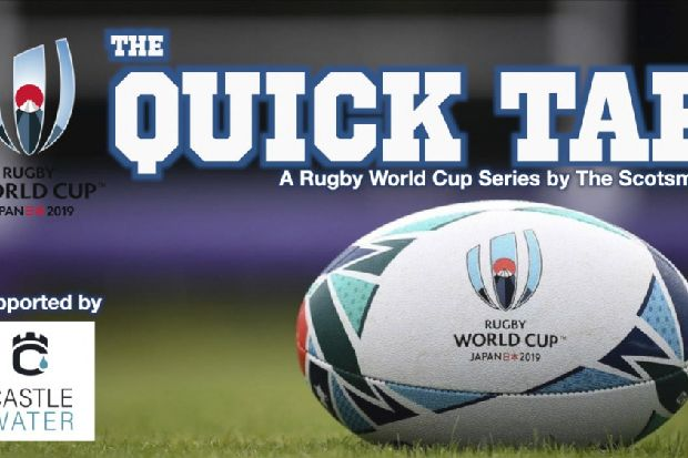 Quick Tap rugby show: reaction to Scotland's loss to Japan
