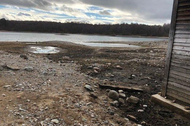 Pictures show Highland loch where over 50 million gallons of water mysteriously disappeared