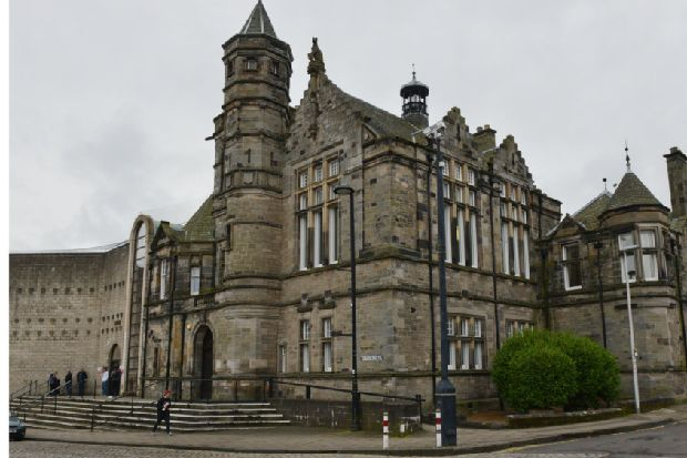 Fife man shouted offensive remarks at former partner after sexually transmitted infection claim