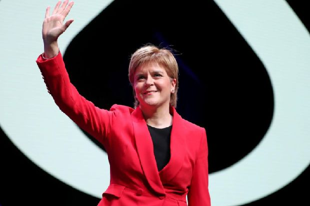 Nicola Sturgeon calls on EU to extend Brexit long enough for second referendum