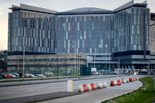 Glasgow super hospital stops admitting patients to two wards after norovirus outbreak