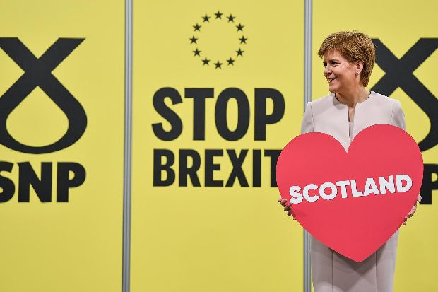 Nicola Sturgeon 'very happy' to have general election before Christmas