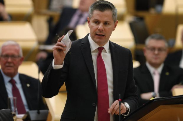 MPs demand review over £1bn Scottish budget 'black hole'