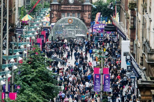 Scottish retail sales rebound with bumper discounts