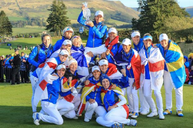 Catriona Matthew re-appointed Europe's Solheim Cup captain as the Scot targets 2021 success on US soil
